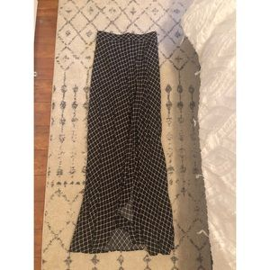 Flynn skye wrap it up maxi skirt S chain me up